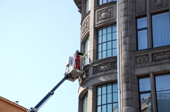 Difficult Access Window Cleaning